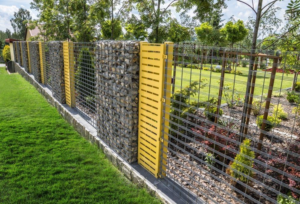 Ogrodzenie gabionowe progress 170x100x20 cm ogrodzenia for Castorama gabion